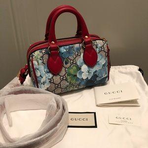 Gucci blooms mini Boston bag